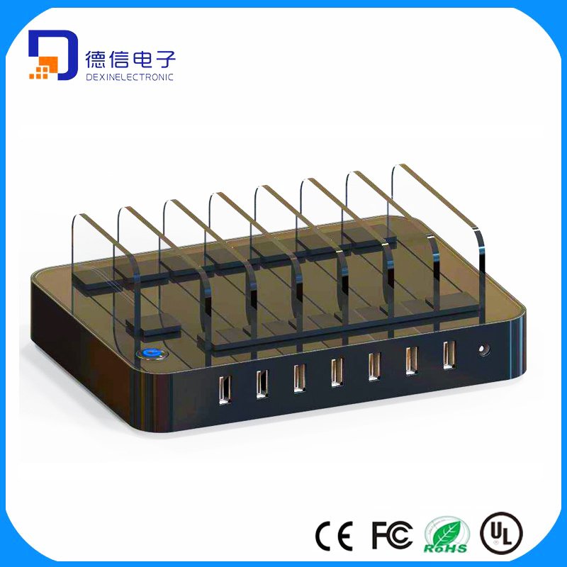 7 Port USB Charging Station USB Charging Hub for Sale