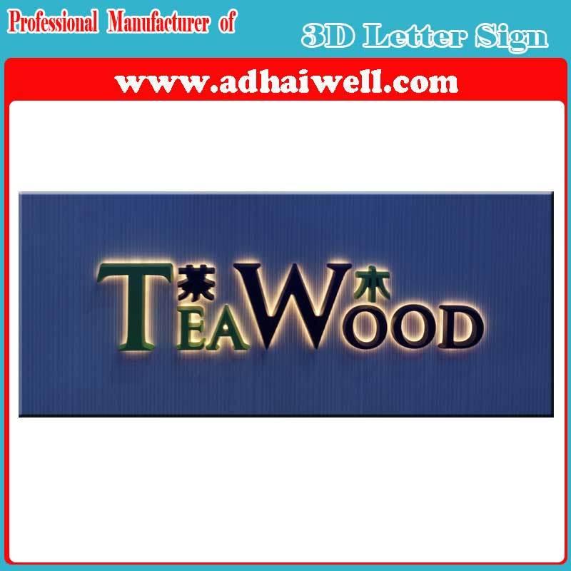 3D LED Letter Brand Sign and Logo Signages LED Sign
