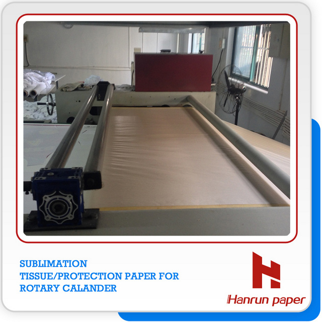 3.2m/126′′ Wide Sublimation Protection Paper/Tissue Paper for Sublimation Transfer Printing Rotary Calendar Machine