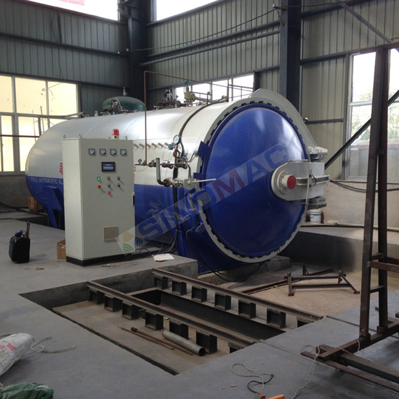 2000X4500mm Gas Heated Glass Autoclave Manufacturer (SN-BGF2045)