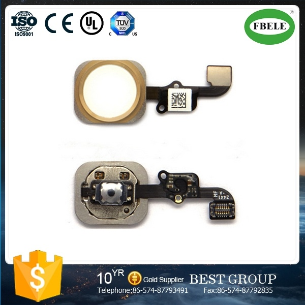 Suitable for Smart Phone 6 Plus The Return Key Assembly P + Home Button Back Row Line Return Key Assembly