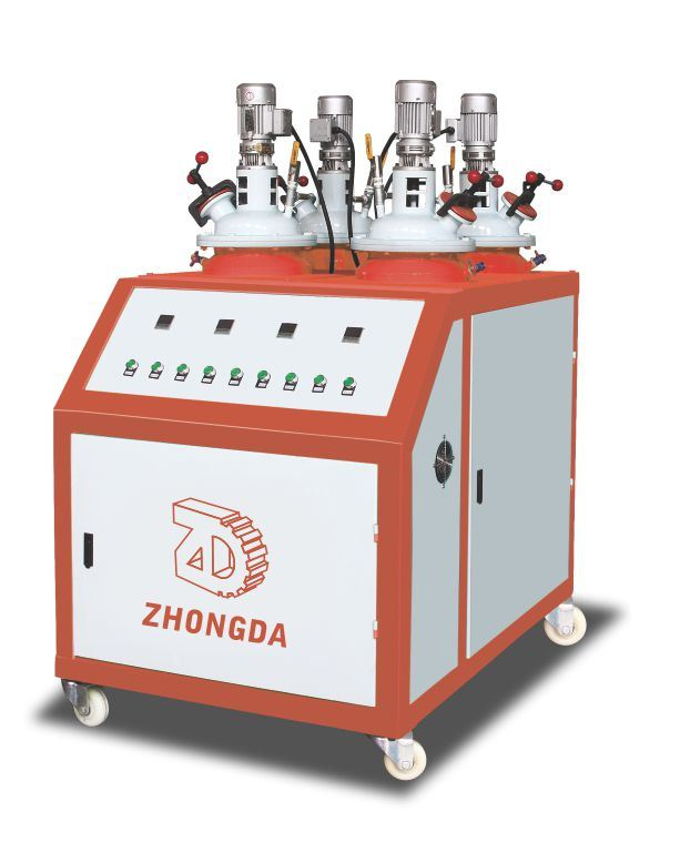 PU Sole Slipper Making Foaming Machine