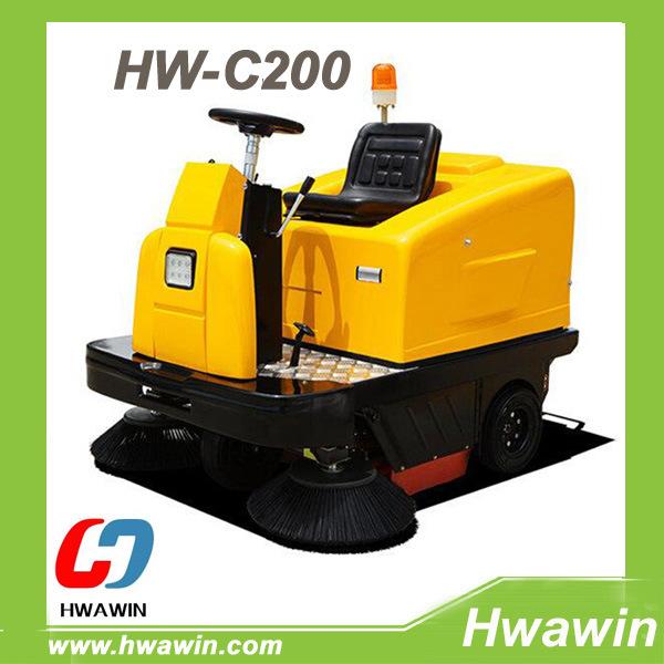 Hw-C200 Road Sweeper Floor Cleaning Machine, Road Floor Cleaning Machine