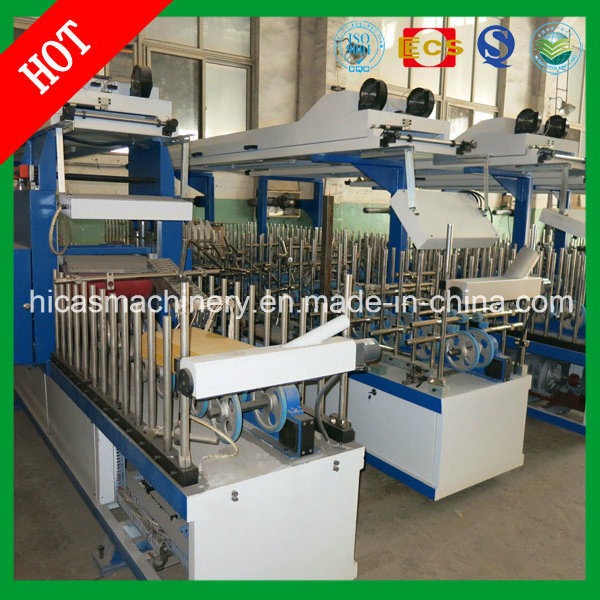 Cold and Hot Glue Wrapping Machine for Hicas Wood Door Frame Machine