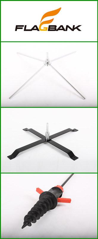 3.4m Tradeshow Aluminium Customized Feather Flag/Flying Flag