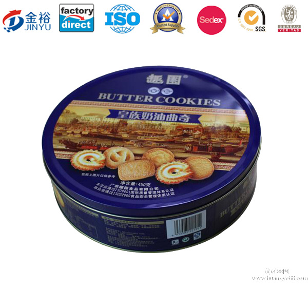 Various Types Chocolate/Cookies/Candy/Tea Packaging Gift Tin Box Metal Tin Box