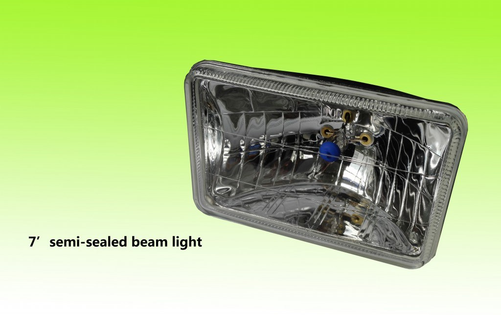 "High Quality 5"" or 7"" Auto Semi Sealed Beam Light"
