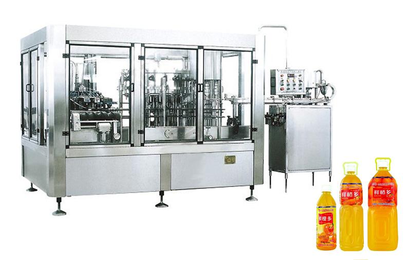Full Automatic Orange Juice Bottle Filling Machine
