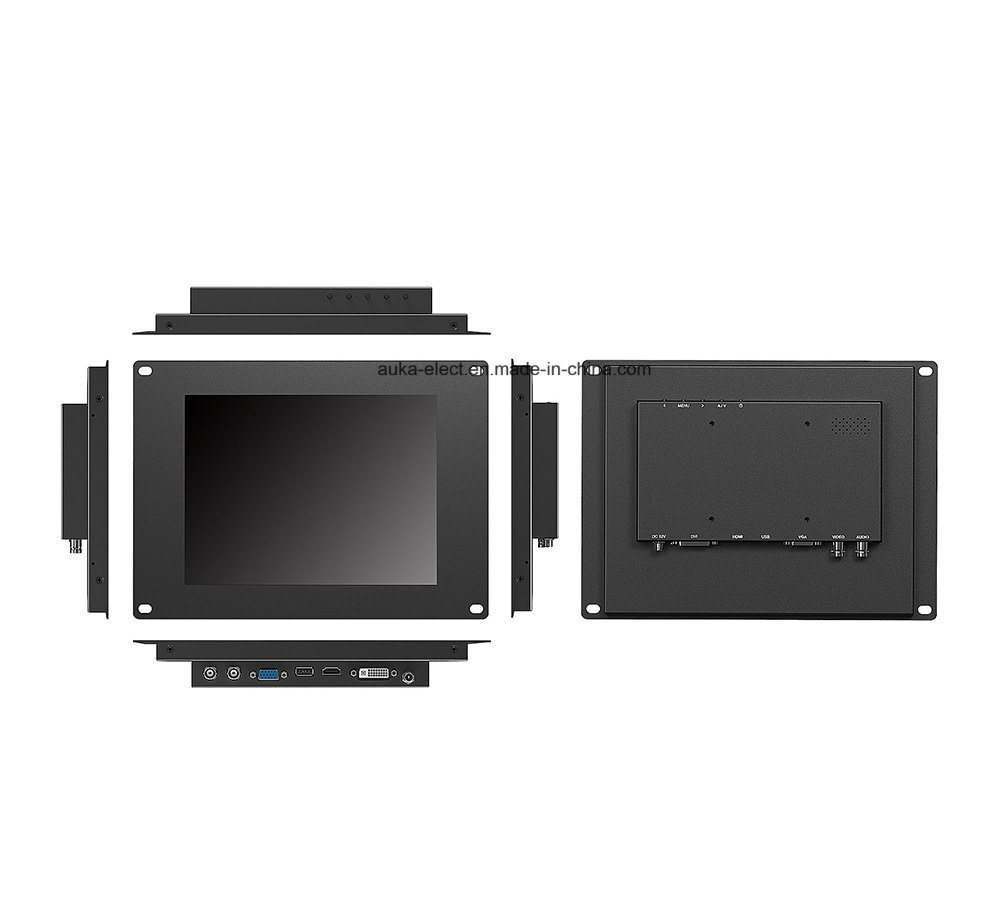 9.7 Inch Industrial Monitor LCD Touchscreen with 1024X768 High Resolution