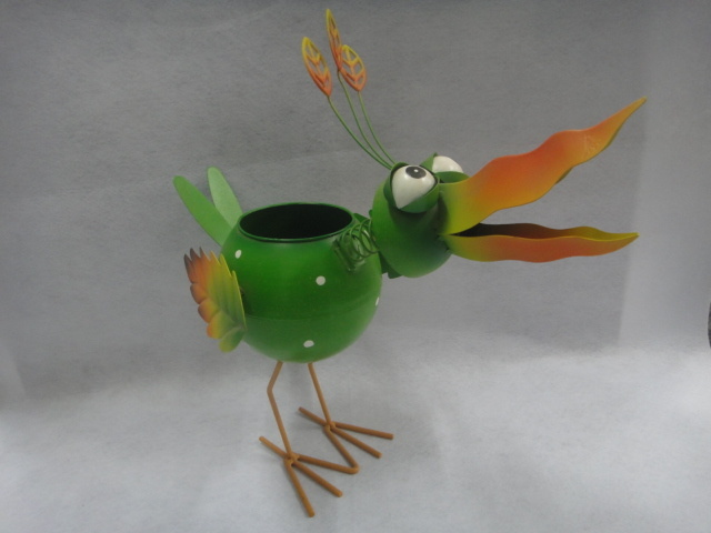 Home Decoration Metal Flower Pot Garden Use