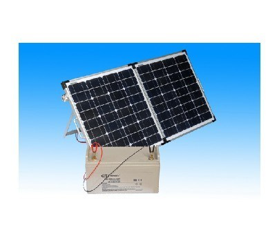 90W Mono Portable Folding Solar Panel for Camping.
