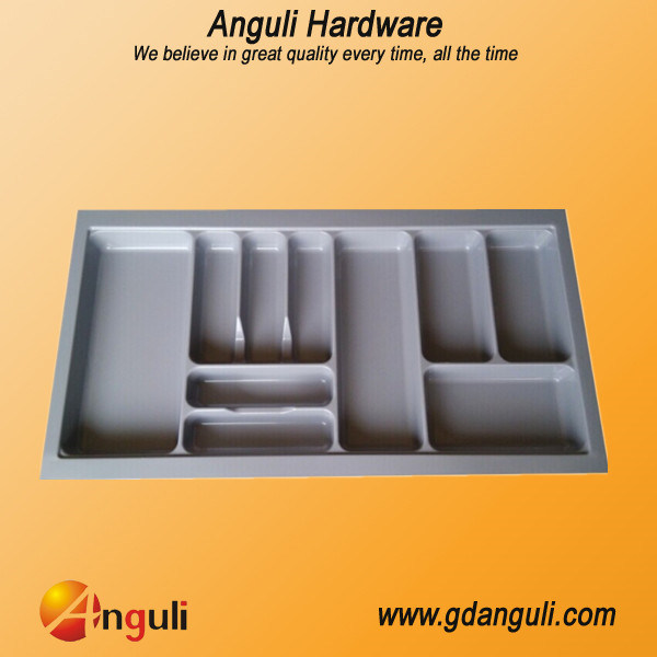 ABS Plastic Kitchen Drawer Cutlery Tray