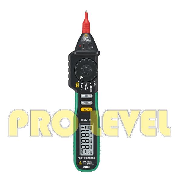 Autoranging Pen-Type Digital Multimeter (MS8212A)