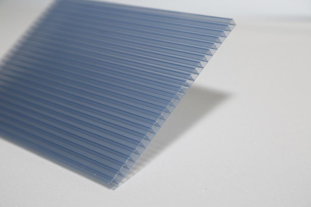 Long Life Span UV Coating Color Hollow Polycarbonate Sheet