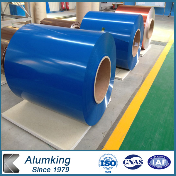 PVDF Color Cated Aluminium/Aluminum Coil for Roofing