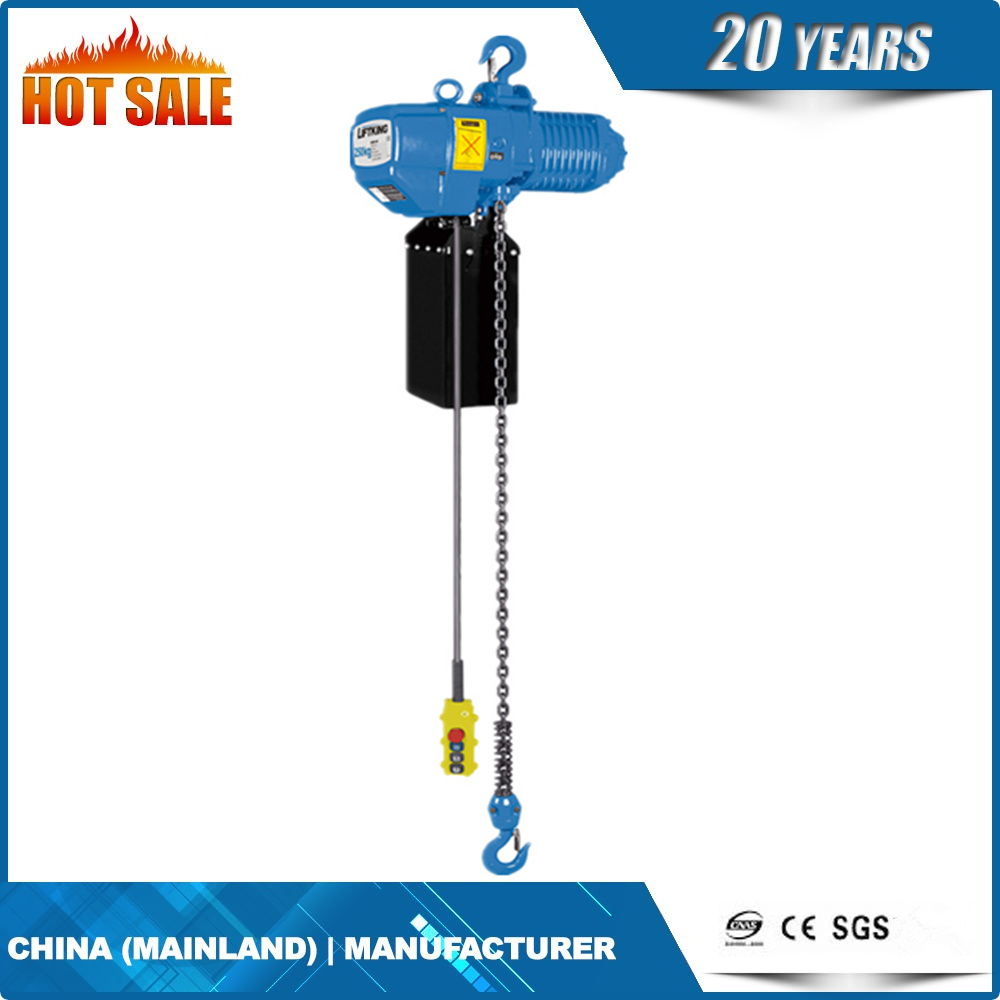 2.5t Fast Speed Chain Hoist with Single Chain Fall
