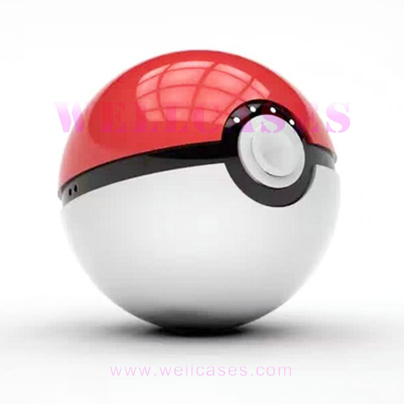 2ND Generation 12000mAh External Battery Pokemon Pokeball Power Bank with Flashlight