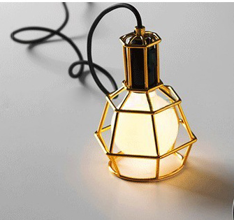 Vintage Pendant Lamp Cord with Lamp Shades Indoor
