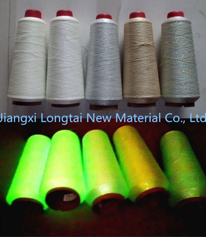 2015 New Product Glow Fibre Luminescent Glow Yarn