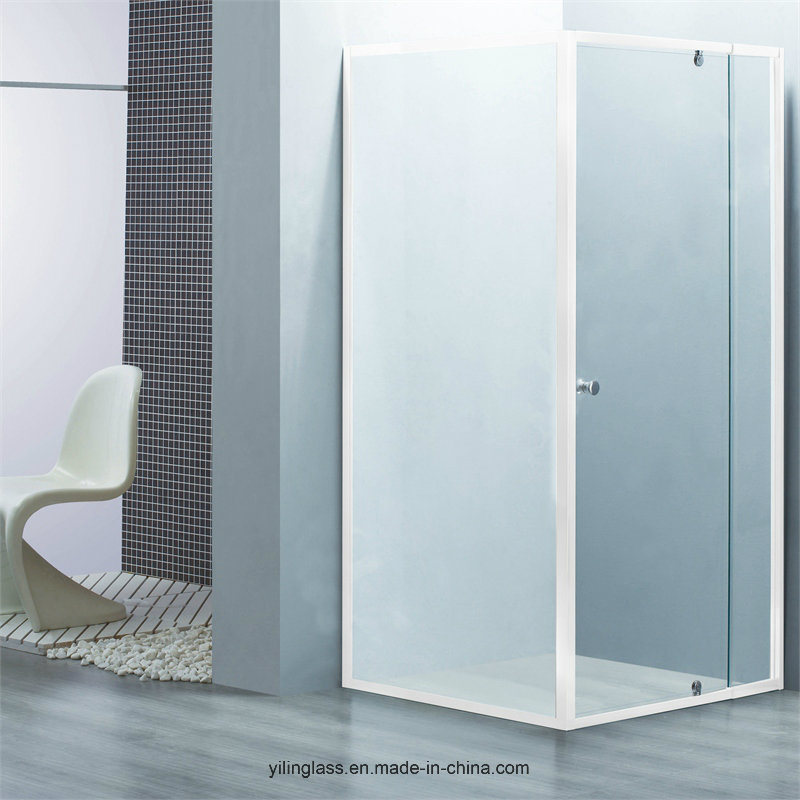 Tempered Shower Glass with Certificate Australian, Ce, SGCC