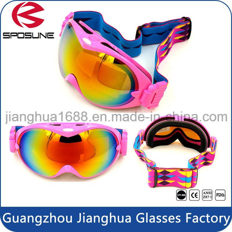 Custom Sport Equipment Promotion Anti Fog Snow Skateboard Goggles Bulk Buy UV Protective Airsoft Skiing Safety Goggle