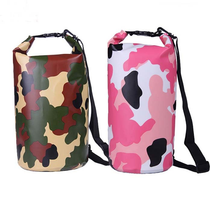 Camouflage Color Fabric Waterproof Travel Dry Bag (MC4026)