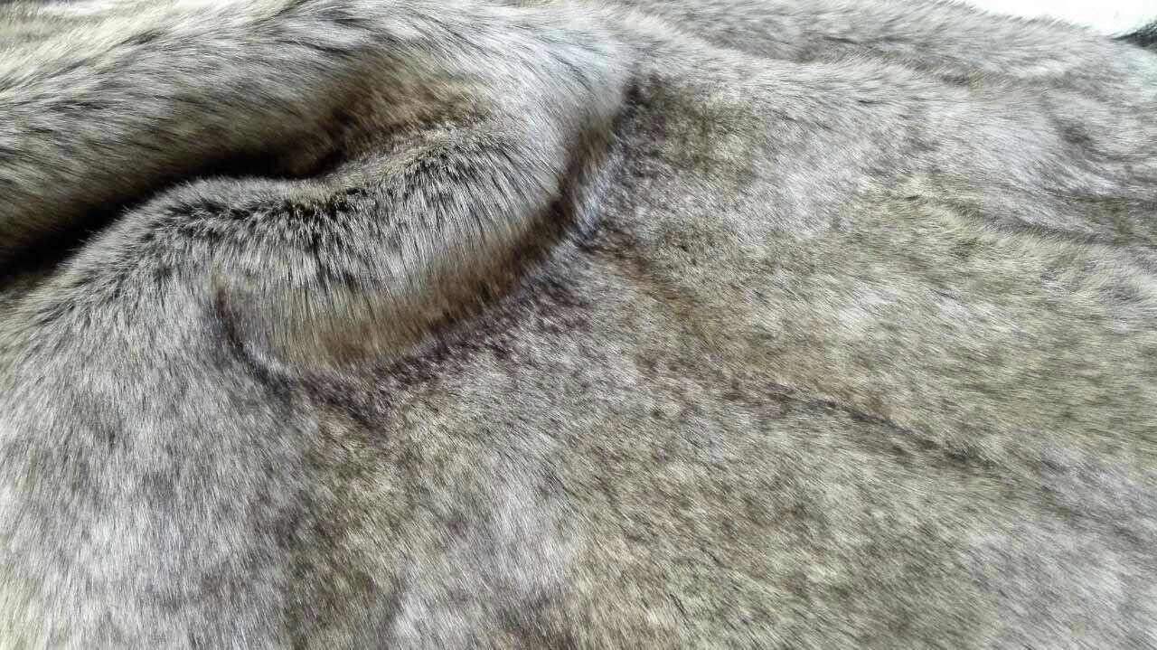 New Knitted Long Pile Fabric Faux Fur Fake Fur Artificial Fur for Coat/Hat/Garment
