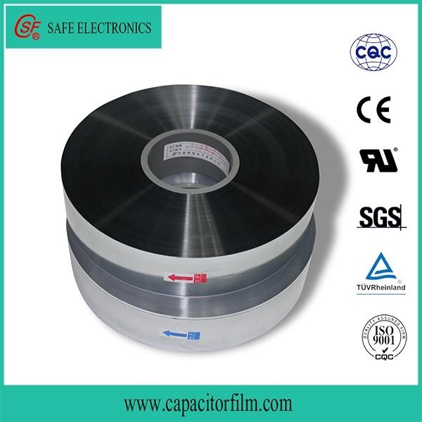 Zinc and Aluminum Metalized Polypropylene Film for Capacitor