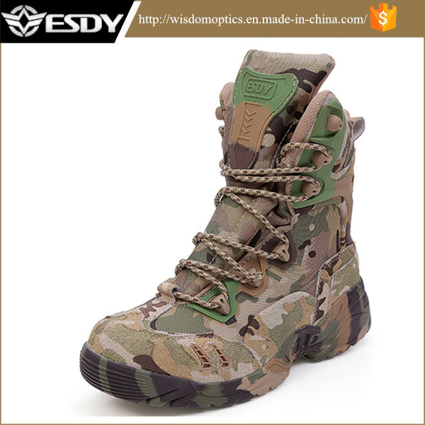 China Cp Camo High Us Army Commando Tactical Combat Assault Boots ...