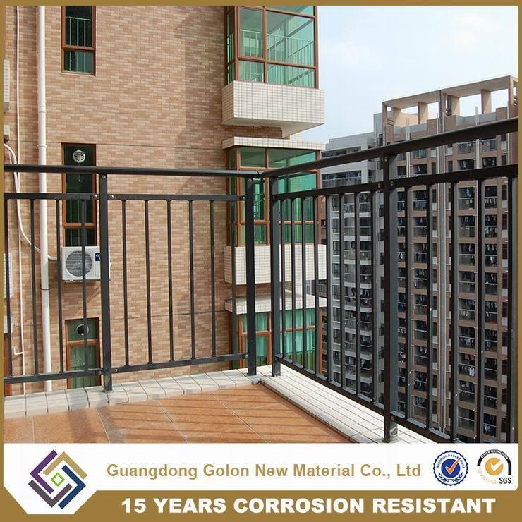 Customized Wrought Iron Balcony Railing