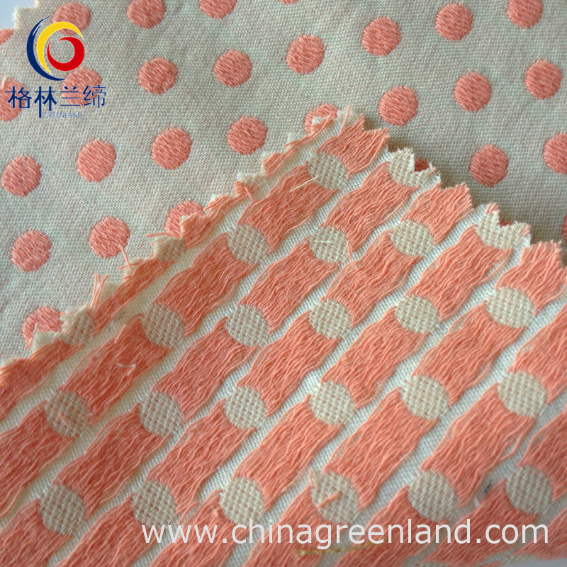 100%Cotton Yarn Dyed Jacquard Fabric for Garment Textile (GLLML057)