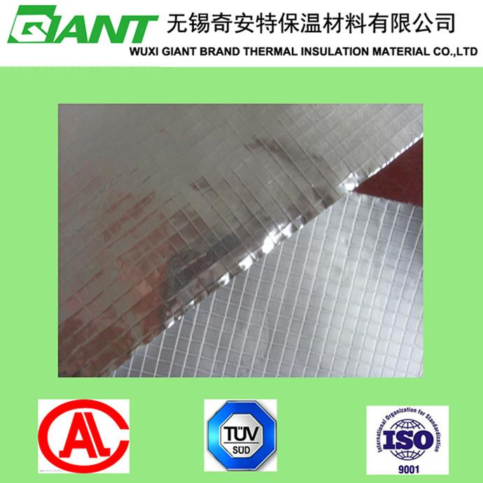 Aluminum Foil with 5*5 Mesh Laminated