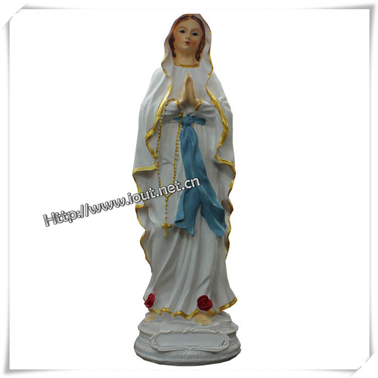 Grace Blessed Virgin Mary Mother Religious Statue Figure (IO-ca036)