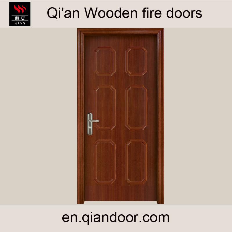 Sapele Veneer Heat-Insulation Wood Door