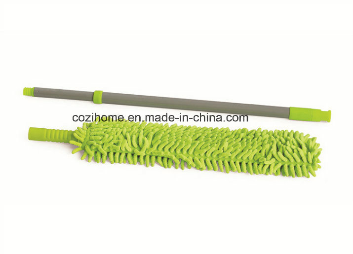 Telescopic Handle Double Sides Chenille Duster for Cleaning (3102CH)