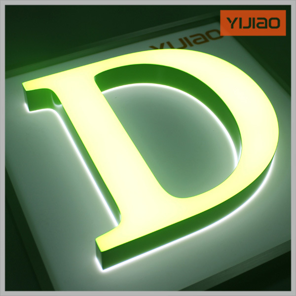 Colorful-Visible Acrylic LED Letter Face Lit