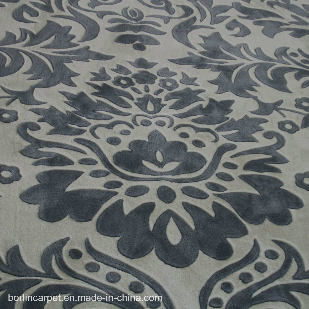 Wool and Silk Carpet Handtufted Carpet