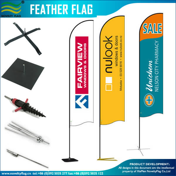 Event Trade Show Flying Swooper Beach Feather Bow Rectangle Teardrop Backpack Flag Banner