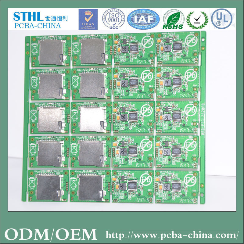 High Quality Rigid PCB Manufactue From Shenzhen