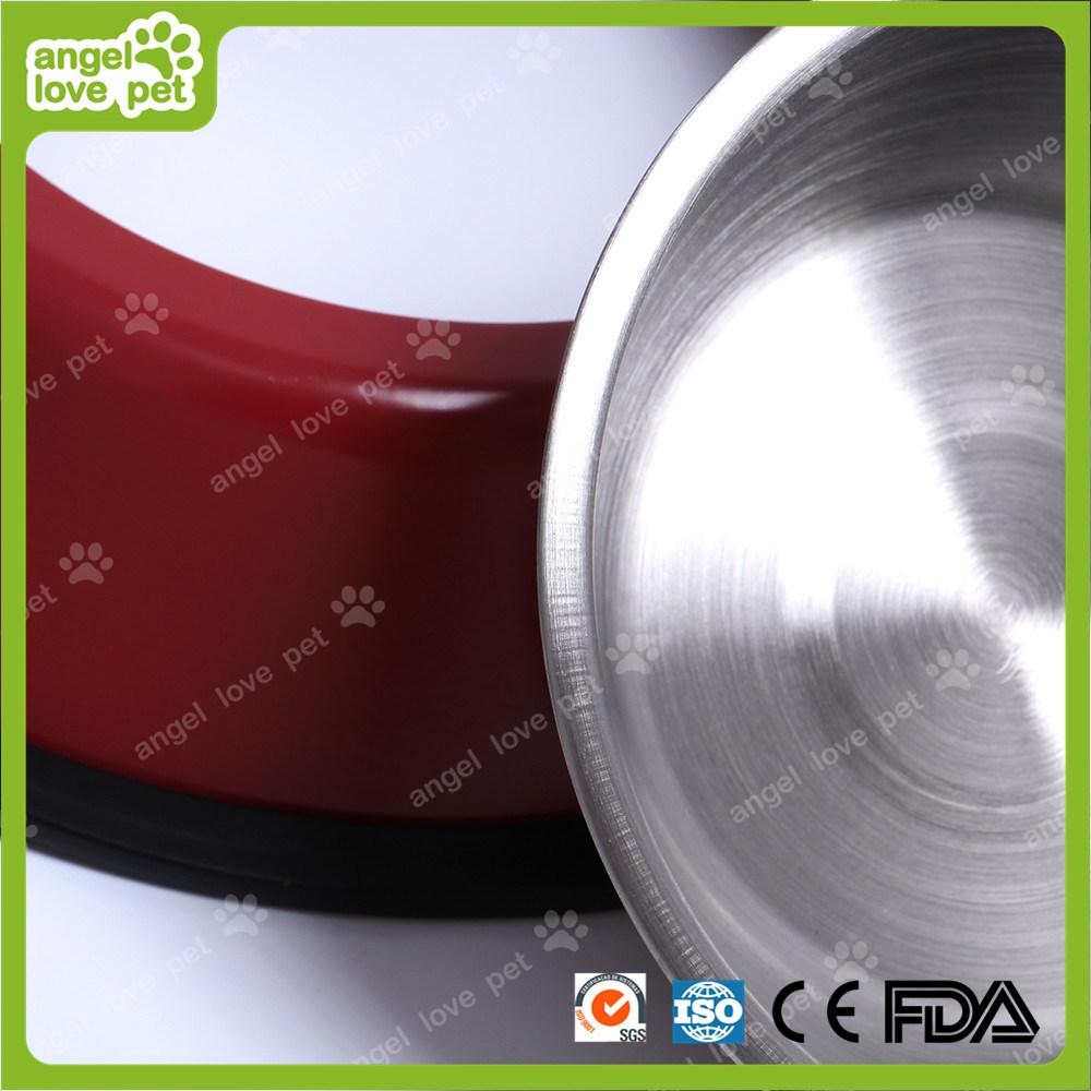 Pet Staninless Steel Double Feeding Bowl