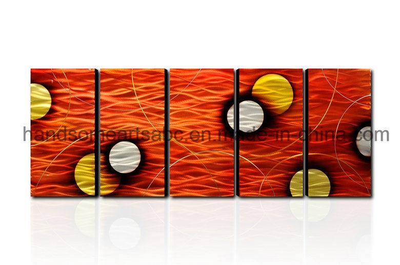Home Decoration Metal Wall Art - Orange Dream (CHB60015022)