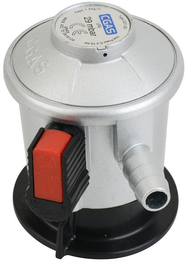 LPG Jumbo Low Pressure Gas Regulator with Meter (C21G56D30)