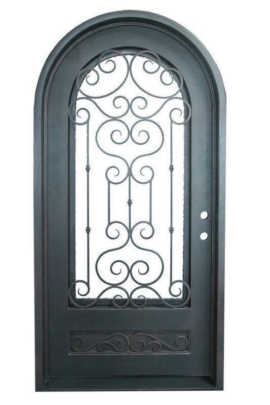Safety Design Iron Door for Homes (UID-S014)
