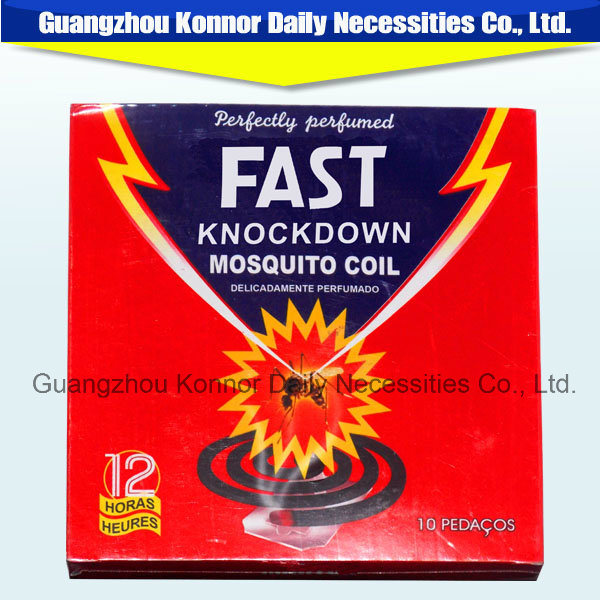 Knock Down Lemon Mosquito Repellent Coil