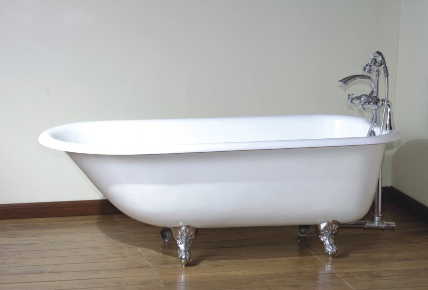 Antique Cast Iron Bath Tub BGL 81  Puj Infant Sink Tub The Soft and Foldable Baby Bath Tub DesignRulz.com