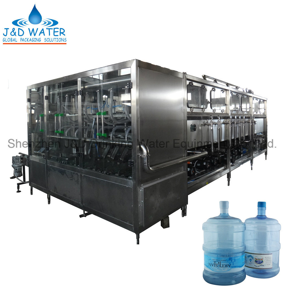 Automatic 18.9L 5 Gallon Barrel Bottle Water Filling Capping Machine