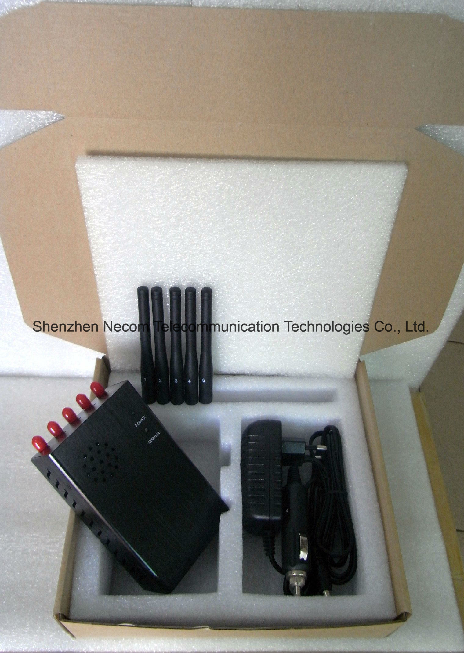 mobile network jammer fidget , China 2g+3G+Gpsl1+Lojack 5 Antennas Signal Blockers - China 2g+3G+Gpsl1+Lojack 5 Antennas Signal Blockers, 5 Band Signal Jammers