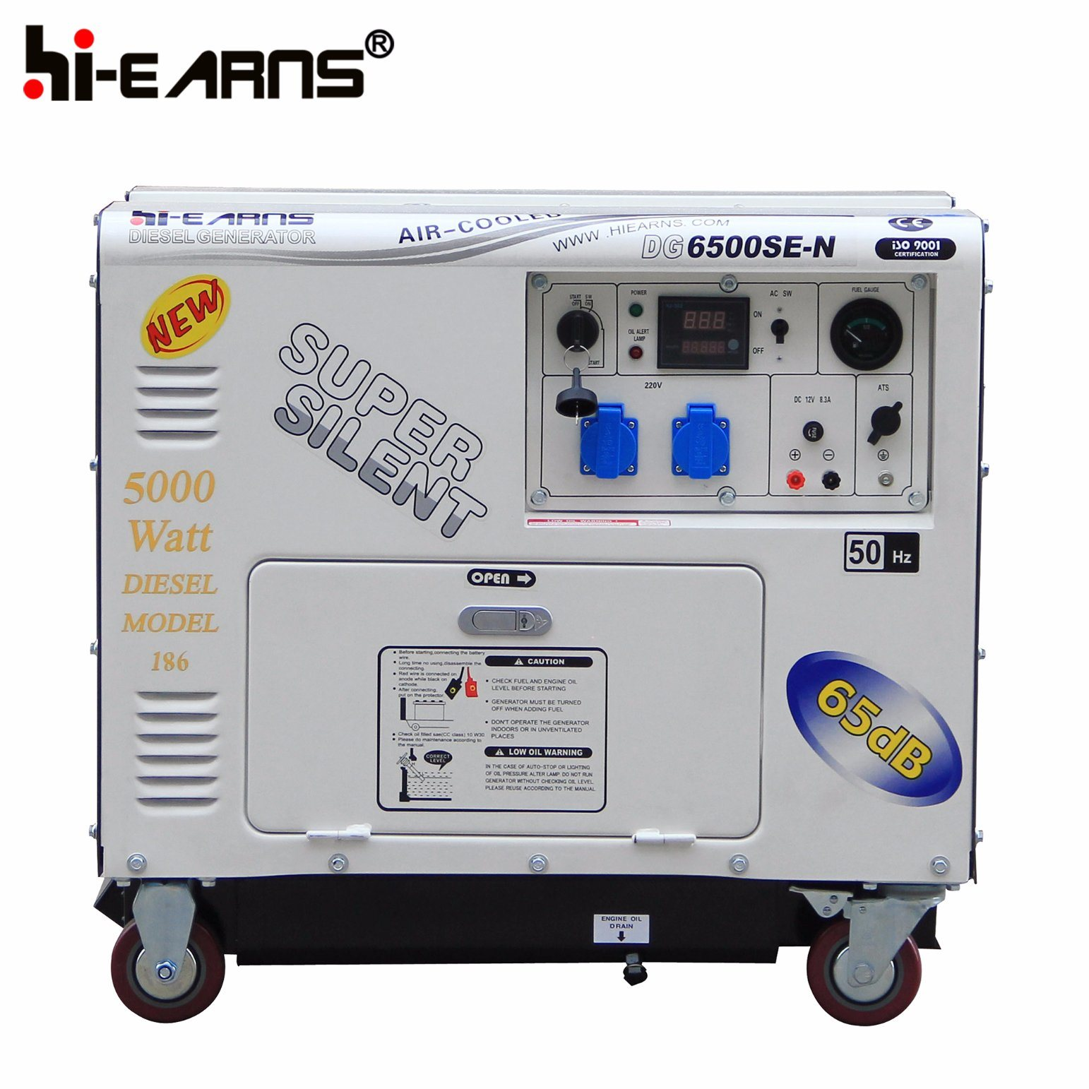 China 2 5kw Portable Small Super Silent Diesel Generator Set