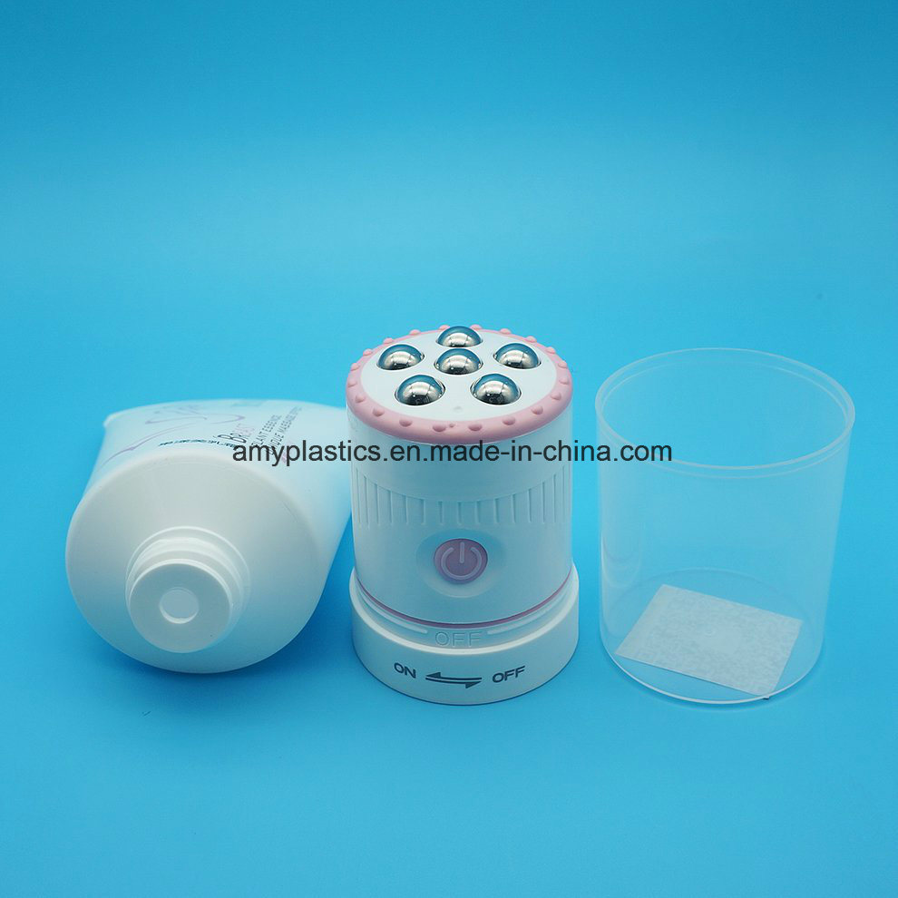 New Product Plastic Cosmetic Vibrating Massage Roller Ball Tube