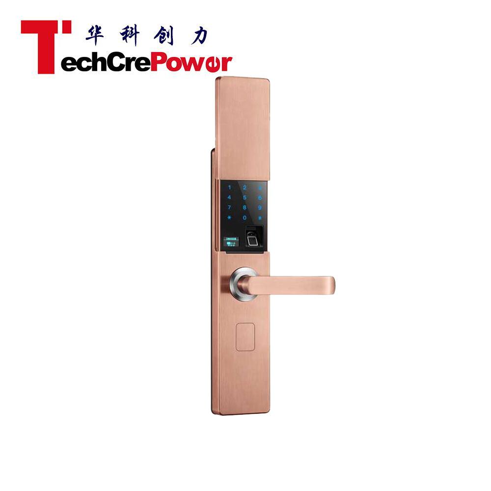 V9 RFID Card Electric Fingerprint Keypad Smart Home Hotel Door Lock